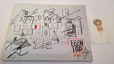 TEEN TOP Red Point CHIC Ver. Korea Press CD Signed Autographed Niel Photocard