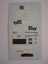 DECALS KIT 1/43 NISSAN R88C 24h LE MANS 1988 DECAL DECALCOMANIA