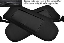 GREY STITCH FITS CORVETTE C6 2005-2013 2X SUN VISORS LEATHER COVERS ONLY