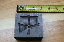 Aztec Pyramid Silver Gold graphite mold Pewder foundry GLASS Parts4less1999