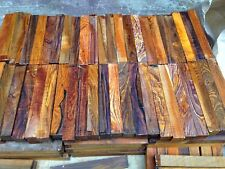 Cocobolo Squares Woodturning/cuemaking