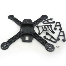 NEW Plastic Mini 265mm Upgraded FPV250 Quadcopter Frame Mini Quad kit F