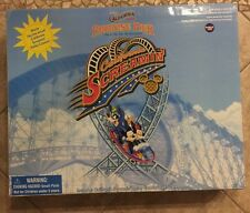 NEW NIB Disney CALIFORNIA SCREAMIN' Roller Coaster Monorail Disneyland Playset