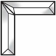 Stained Glass Supplies 2 Piece - 1 x 4 Inch Corner Bevel Cluster Bc430
