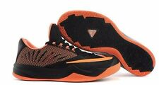 NIB MENS NIKE ZOOM RUN THE ONE HARDEN BLACK ORANGE BASKETBALL SHOES Size 8