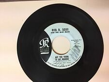 POP 45 RPM RECORD - BOB B. SOXX AND THE BLUE JEANS - PHILLES 113