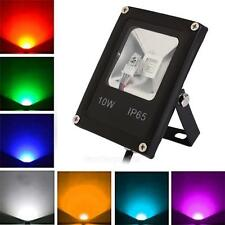 Spotlight 10W IP65 RGB LED Lawn Spot Light Outdoor Étang Jardin Jardin Lampe +
