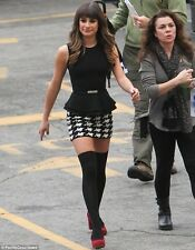 Jeffrey Campbell Emily Pump Heel Suede Shoes 9.5 Lea Michele Glee Set $125