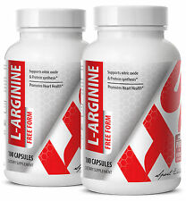 Amino Acids, L-Arginine Sport Edition. Protein Synthesis (2 Bottles, 200 Caps)