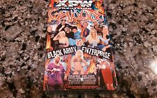 XPW WRESTLINGGENOCIDE RARE VHS TAPE NEW! SEALED! THE BLACK ARMY VS. ENTERPRISE