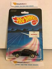 #3 P-911 Turbo Porsche 3968 * BLACK * 1986 Hong Kong * Vintage Hot Wheels * E20