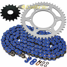 Blue O-Ring Drive Chain & Sprockets Kit Fits YAMAHA R1 YZF-R1 2004-2008