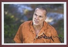 Al Sapienza Actor-The Sopranos/Mikey Palmice, SAW V Signed 4x6 Color Photo C6783