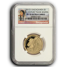 2012 S Sacagawea 17th Century Trade Routes NGC PF70 Proof One Dollar Coin