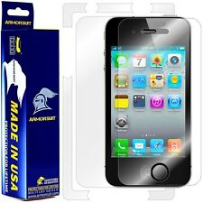 ArmorSuit MilitaryShield Apple iPhone 4S Screen Protector + Full Body Skin! New!