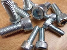 25 No, M6 x 120mm, Cap Head, Socket Screws, BZP, DIN 912 ( BS 4168 ) GRADE 12.9