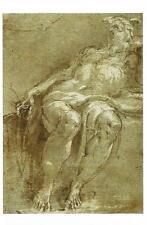 Postcard Parmigianino Saint Jerome 1526/27 MINT