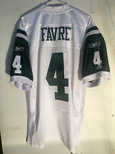 Reebok Authentic NFL Jersey New York Jets Brett Favre White sz 56