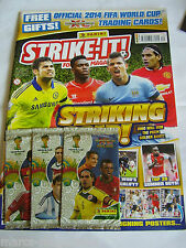 PANINI STRIKE IT MAGAZINE numero 2014 # 40 CON FIGURINE ADRENALYN XL Nuovo