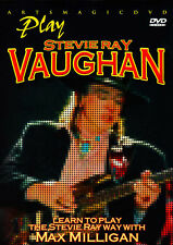 ArtsMagic PLAY BLUES GUITAR THE STEVIE RAY VAUGHAN WAY Video Lesson DVD Milligan