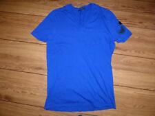 Mens Gucci v-neck dark blue t-shirt top. Size Large