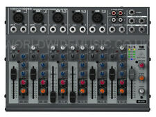 BEHRINGER XENYX 1002B MIXER optional battery operation