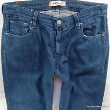 Ladies Womens Levis 629 BOOTCUT Leg Mid Blue Jeans W31 L32 UK Size 12