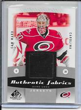 10-11 SP Game Used Cam Ward Authentic Fabrics Jersey