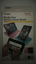 KEYDEX Kindle Fire Case Genius Rotating Back Hard Cover Stand - PINK ONLY ONE!