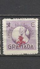 1698 -SELLO LOCAL ESPAÑA GUERRA CIVIL GRANADA AYUDA AL CAMARADA FALANGE ESPAÑOLA
