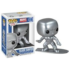 "Marvel Silver Surfer 3,75 ""figurine en vinyle pop bobble-head funko NEUF"