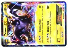 POKEMON BW11 BLACK & WHITE LEGENDARY TREASURES HOLO N°  52/113 ZEKROM EX 180 HP