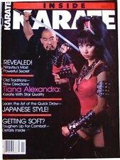 11/85 INSIDE KARATE TIANA ALEXANDRA GERALD OKAMURA KUNG FU MARTIAL ARTS NINJITSU