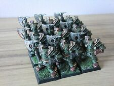 Warriors of Chaos - Chaos Warrior x 9 - Well Painted OOP