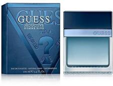 MEN GUESS BLUE SEDUCTIVE HOMME 3.3 / 3.4 100 ML edt Cologne New in Retail Box