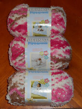 Bernat Pipsqueak Yarn Lot Of 3 Skeins (Neopolitan #59245)