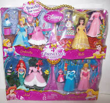 Disney Favorite Moments Princess Polly Pocket Doll Gift Set of 4 NEW Mattel 2006