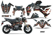 AMR Racing Kawasaki Z125 PRO Graphic Kit Dirt Bike Decals MX Wrap 2017 WW2 BOMB