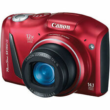 Canon PowerShot SX150 IS 14.1 MP Digital Camera - Red - NEW, Free 3 Days Ship
