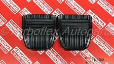 Toyota Clutch Brake Pedal Pad Set of 2 Genuine OEM     31321-14020