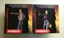 Sam & Dean Winchester Supernatural Mini Masters Figure Set by Quantum Mechanix