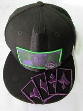 NEW ERA CAP HAT 59FIFTY THE JOKER CARD VS BATMAN DC COMICS BLACK 7 1/2 FITTED