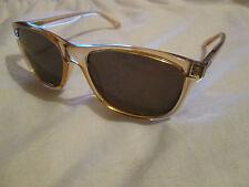 Ted Baker Brett semi transparent brown frame Brett sunglasses.