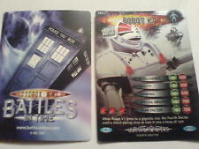 dr who ULTIMATE MONSTERS  CARD  RARE  787 ROBOT K1