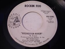 PROMO Rockin Foo Rochester River / Stranger in the Attic 1969 45rpm VG++ PSYCH