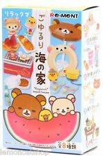 Rilakkuma re-ment Beach House Kawaii Anime Rement Lindo Mini muñeca casa miniatura