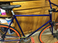 Fuji fixed gear Bike Weinmann DP18 rims Shadow Conspiracy pedals oury grips BMX