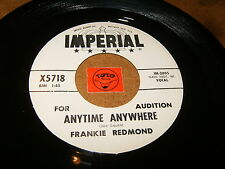 FRANKIE REDMOND - ANYTIME ANYWHERE - MAKE BELIEVE WORLD  / LISTEN - TEEN ROCK