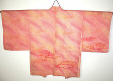 FAB SUNSET COLOURS SHIBORI JAPANESE HAORI KIMONO EVENING JACKET HAND MADE Clouds