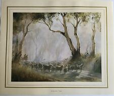 """New Kevin Best Artist Painting Print - The Big Muster - """"Tuena"""""""